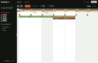 Týdenní kalendář